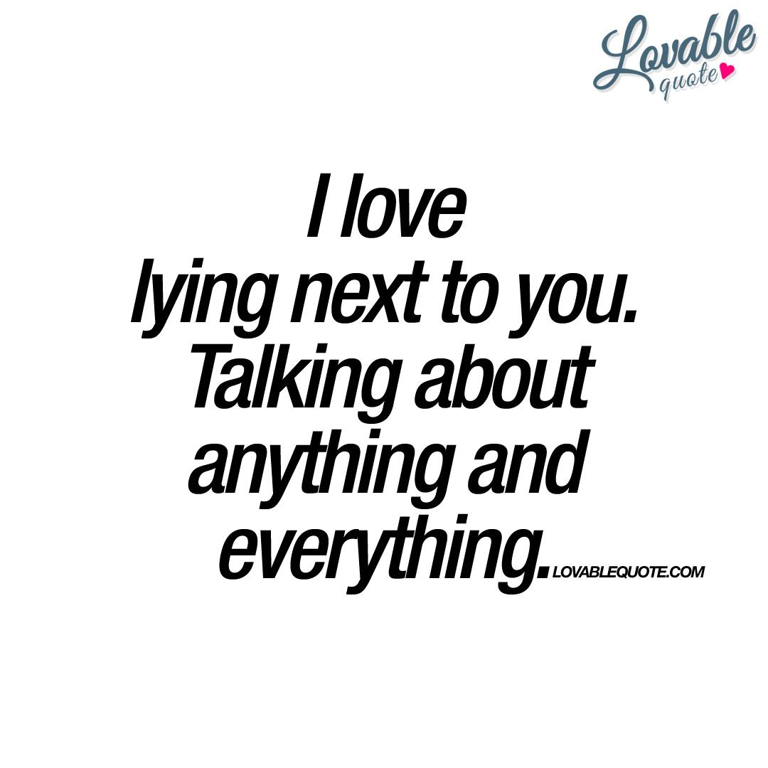 Lying for Love