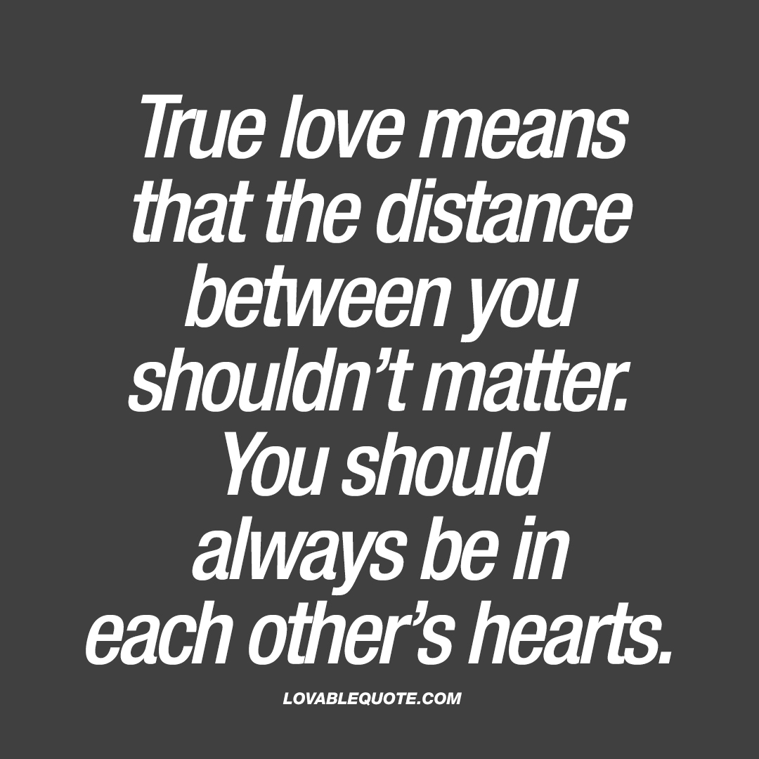 about true love