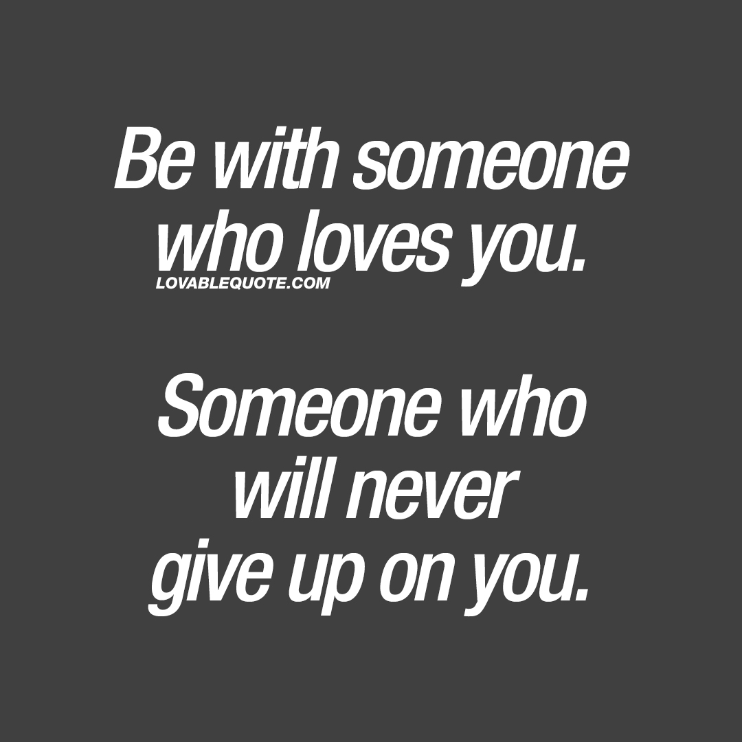Quotes about giving up on someone